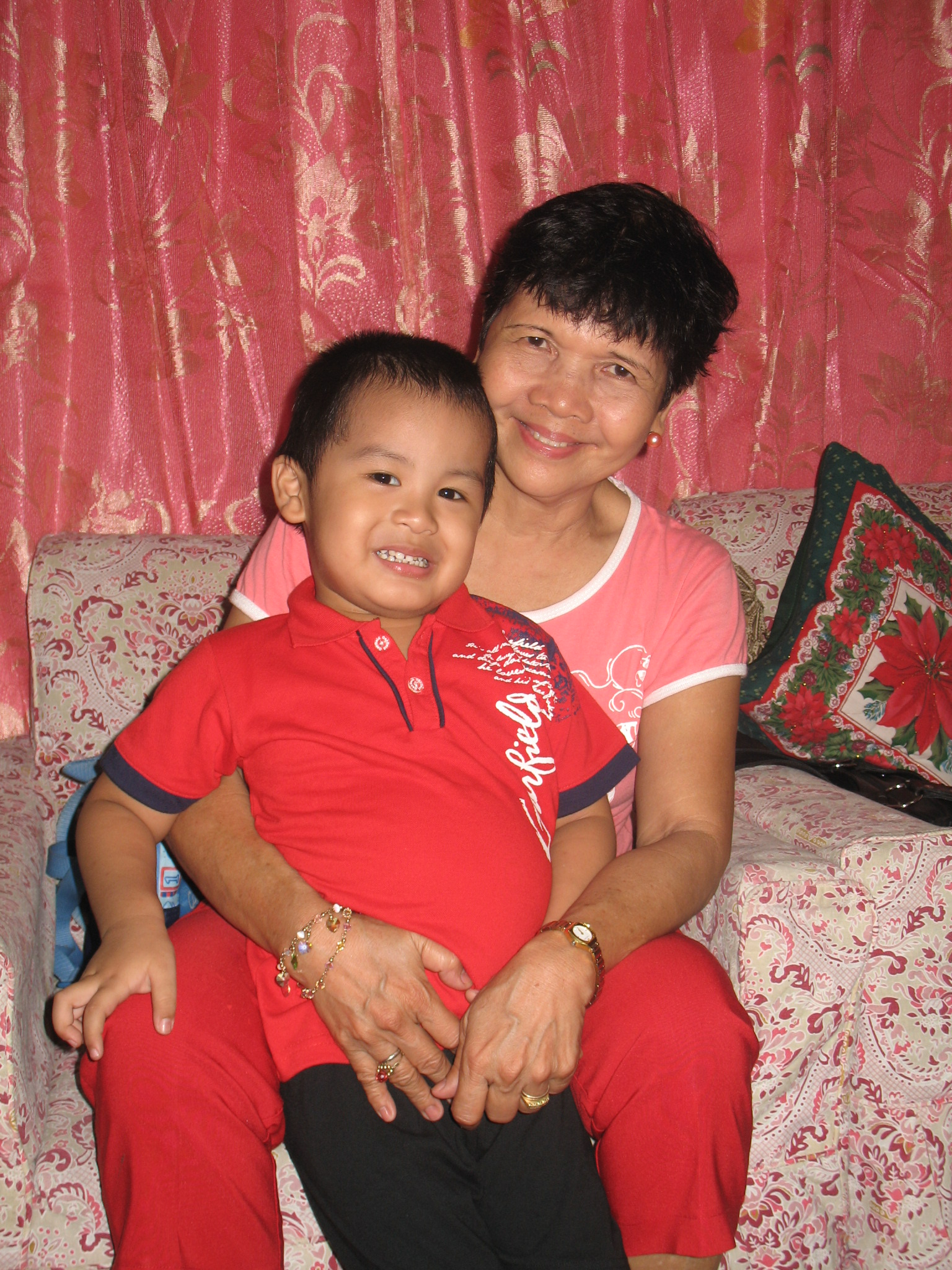 Jed and Tita Pet