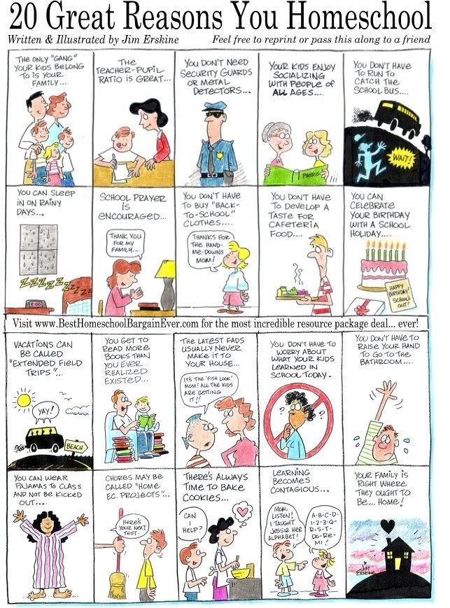 20GreatReasons Homeschool