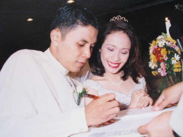 wedding contract signing