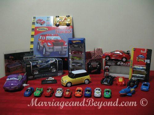 jed's birthday cars
