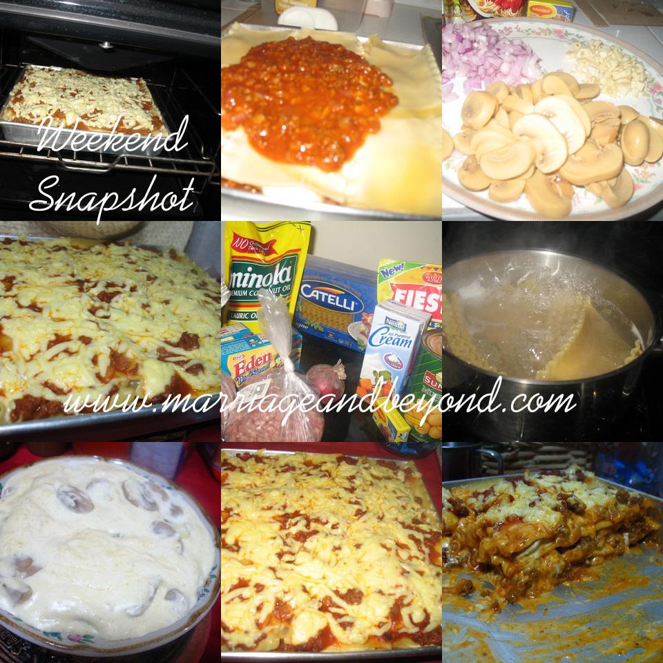 jennie's lasagna