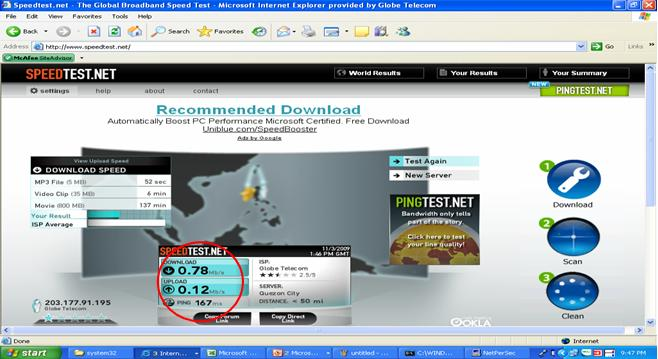 Sun Broadband. globe tattoo speedtest