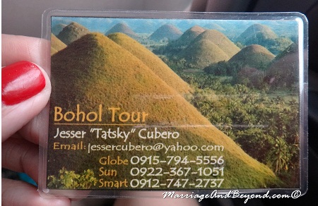 Bohol Tour Guide