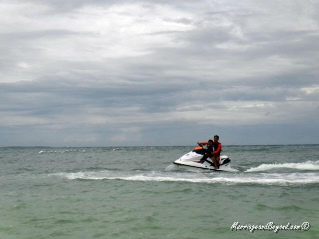 Dumaluan Beach Resort waverunner ride