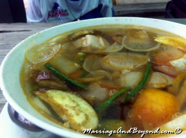 Dumaluan Beach Resort Pork Sinigang