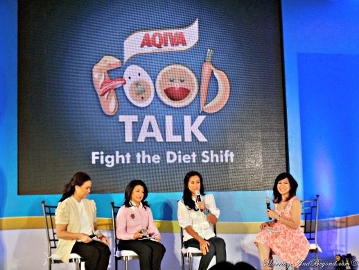 Food Talk Fight the Diet Shift