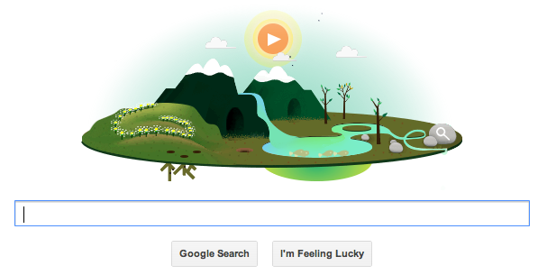 Earth Day Google