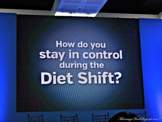 how to stay in control diet shift