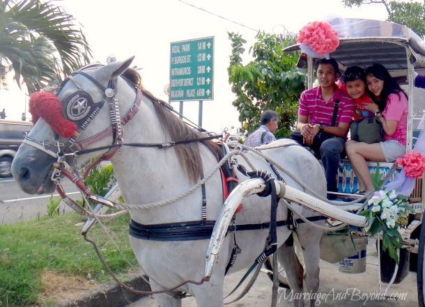 Aspacio kalesa ride