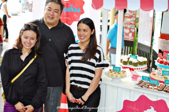 Chef JJ Yulo, Monica Llamas and Sonja of Cupcakes by Sonja