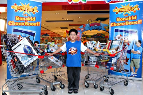 Kyle Yniguez - Bonakid Choco Boost Amazing Toy Adventure Promo Winner