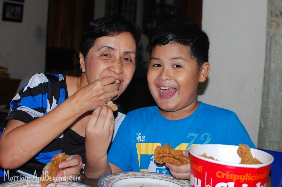 happy grandparent's day with jollibee