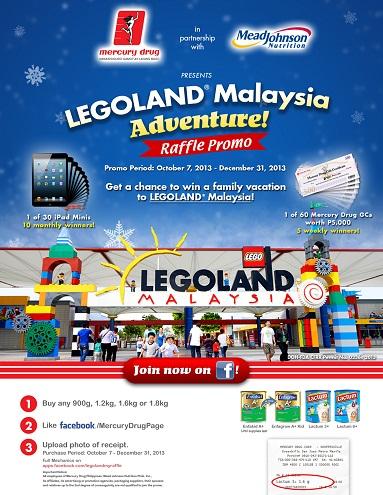 legoland malaysia mercury drug promo