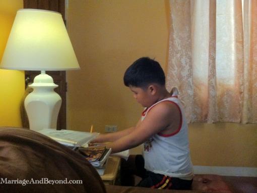bedside homeschooling
