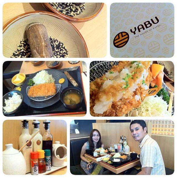 Anniversary dinner at Yabu