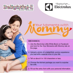Your Moments with Mommy contest mechanics