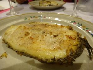 Pan-seared Sea Bass