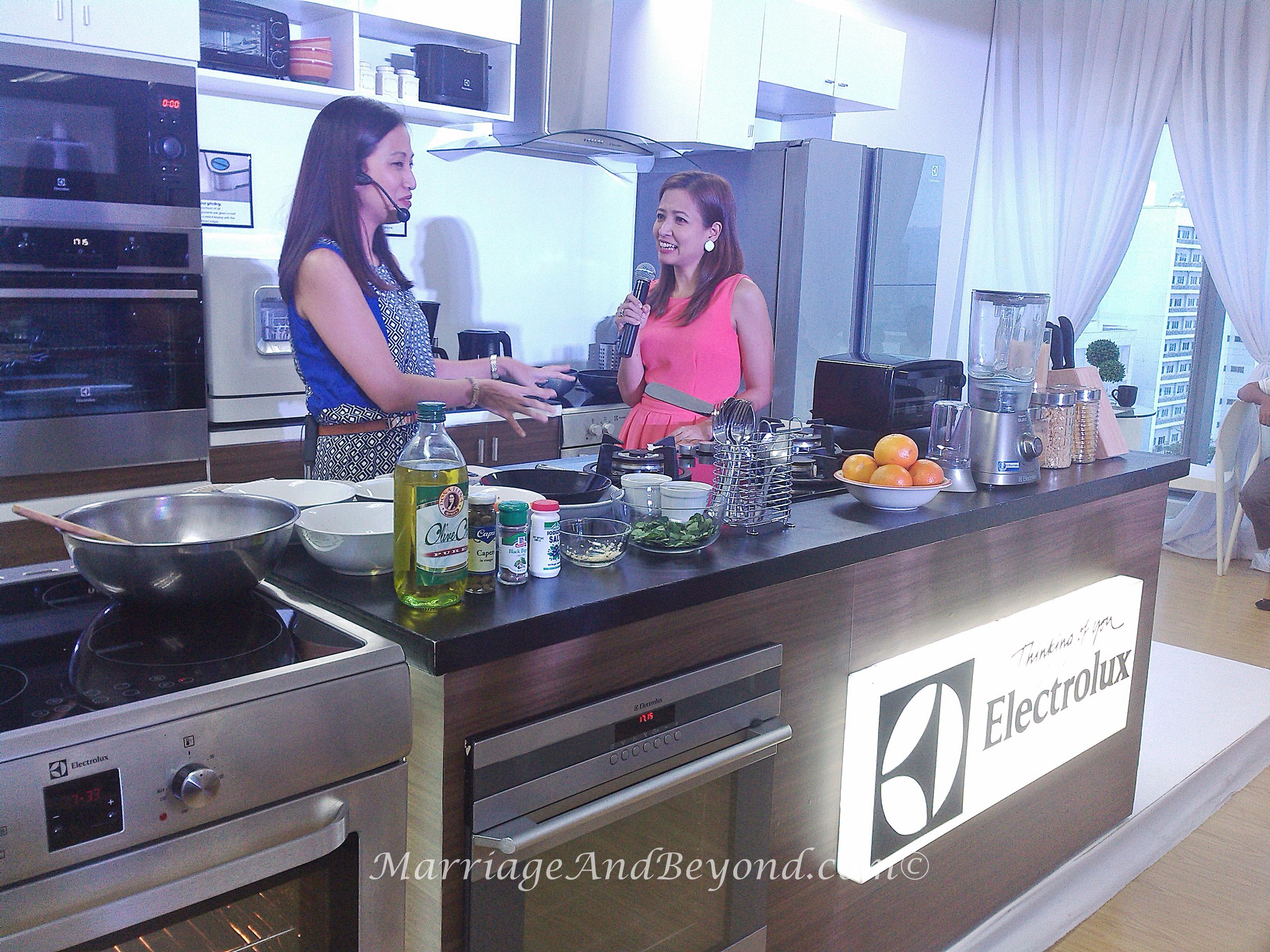 Janice Villanueva at the DelighfulE Yummy Campaign Launch of Electrolux