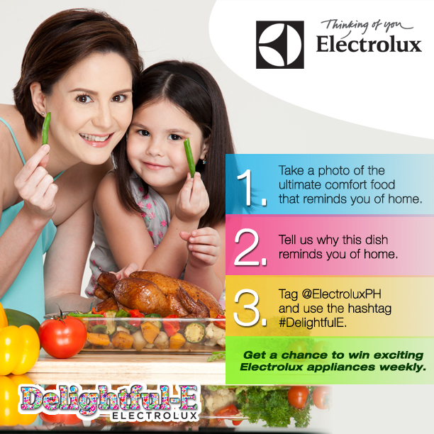 Electrolux's DelightfulE Yummy Instagram and Twitter Contest Mechanics