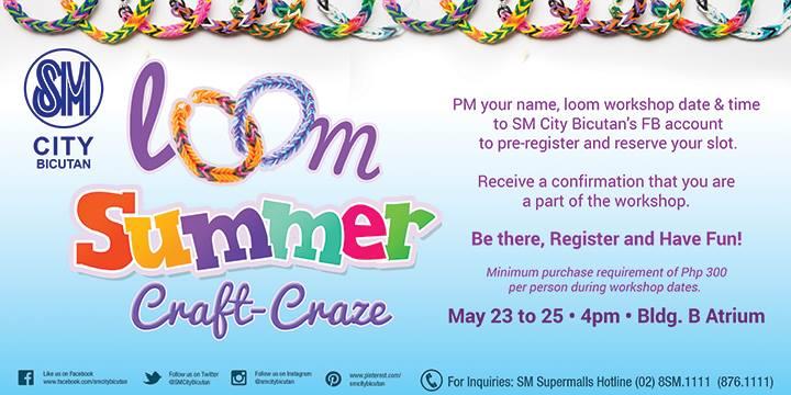 SM Bicutan SummerLoom Event