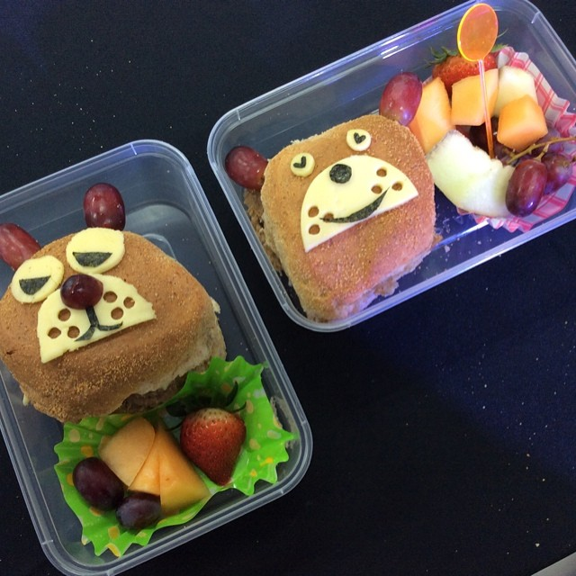 bento boxes beary easy pandesal