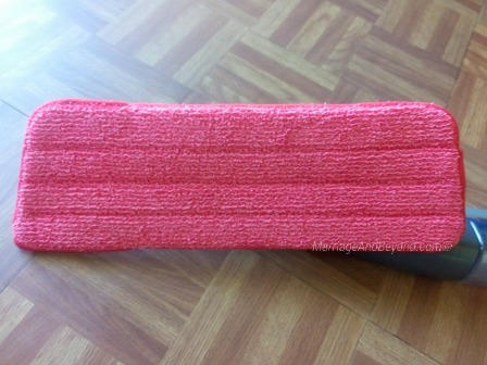 rubbermaid reveal microfiber twist mop instructions