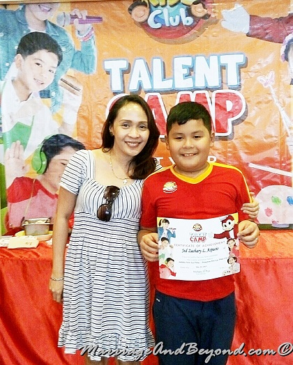 Jollibee Kids camp graduation