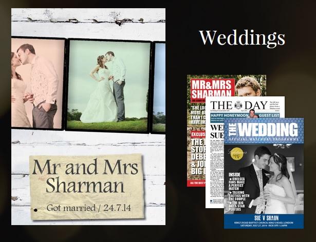 Weddings magazine