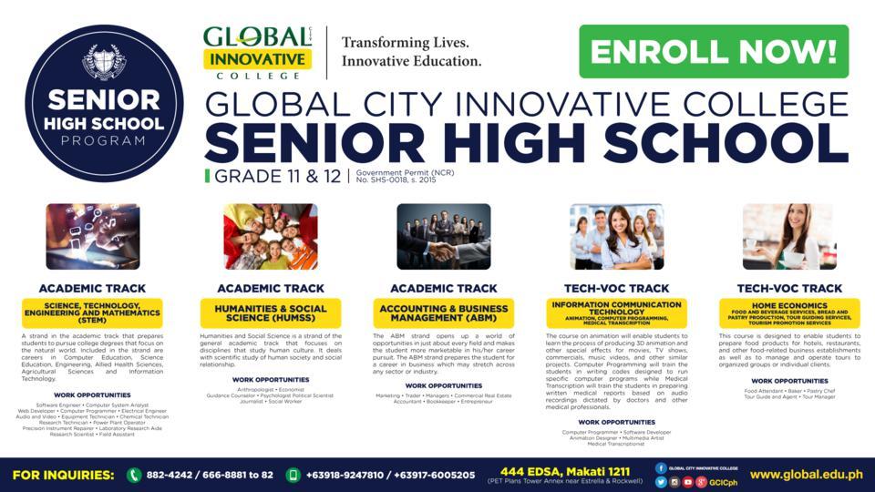 GIC Senior High School Poster (1)