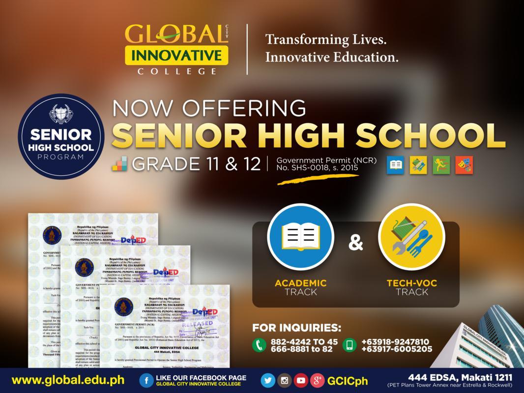 GIC Senior High School Poster (2)