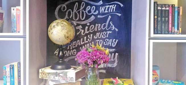 Book & Borders Cafe Opens in Upper McKinley Hill, BGC
