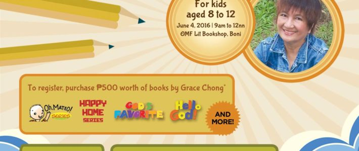 Writing Workshop for Kids by Grace Chong at OMF Lit