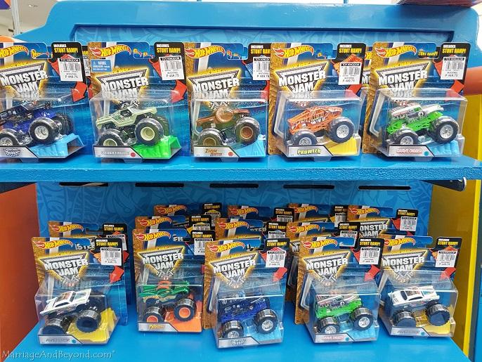 Hot Wheels Monster Jam diecast trucks