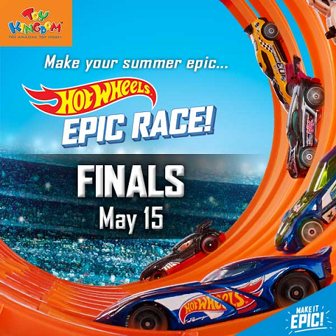 Hotweels Epic Race Finals