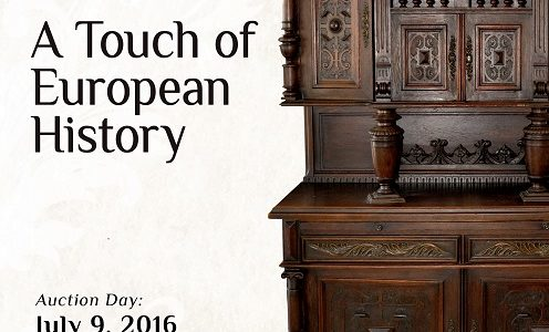 Harringtons Auction: A Touch of European History