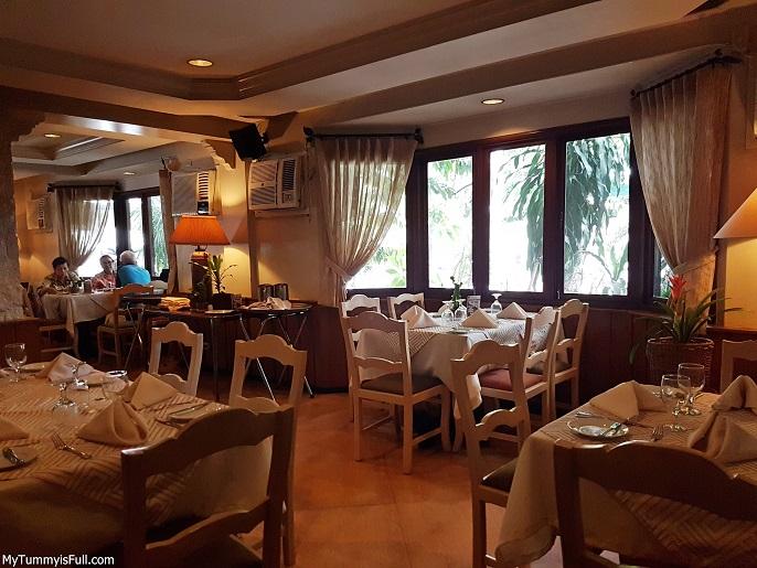 Mario's Restaurant interior