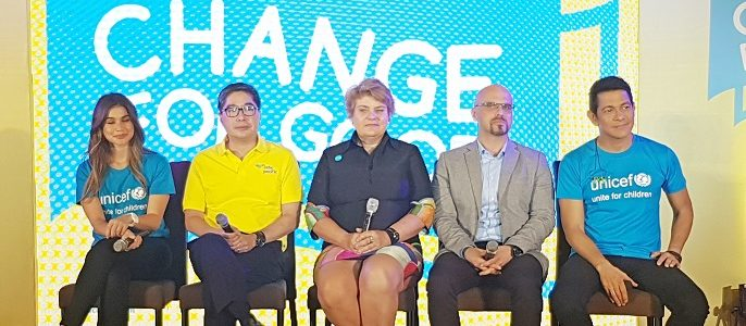 Change for Good @CebuPacificAir and @UNICEFph Partnership Launch