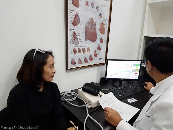 Rapha Health Clinic CardioVision test