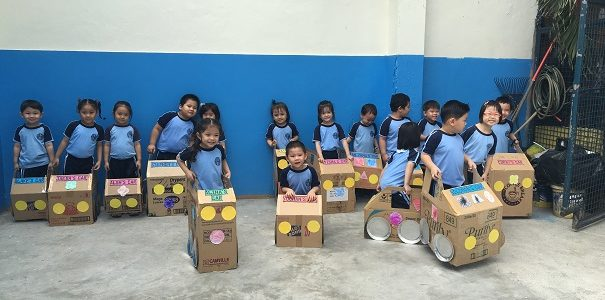 There's Play to Learn at Hope Christian High School's  Pre-School Program