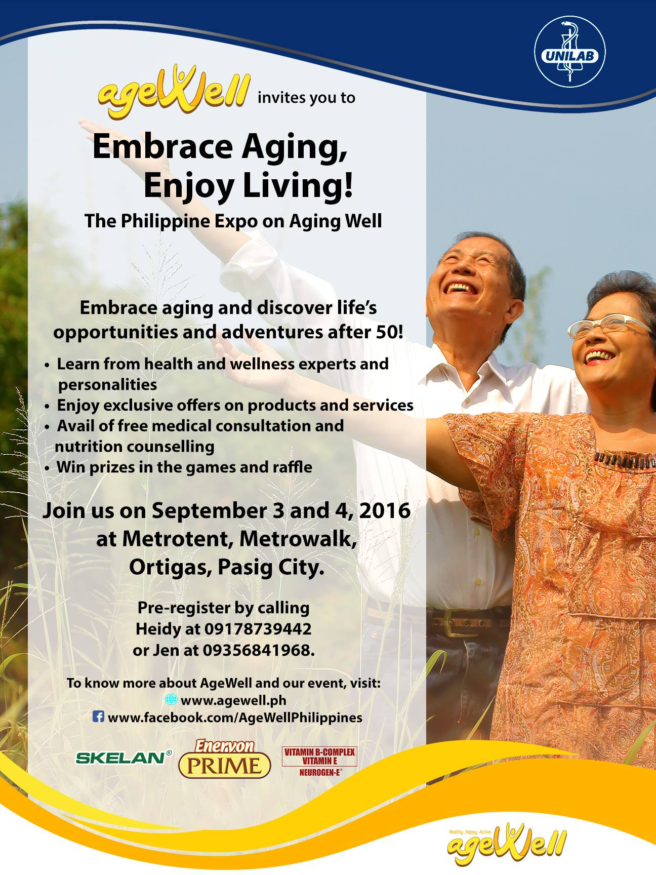 age well event for seniors