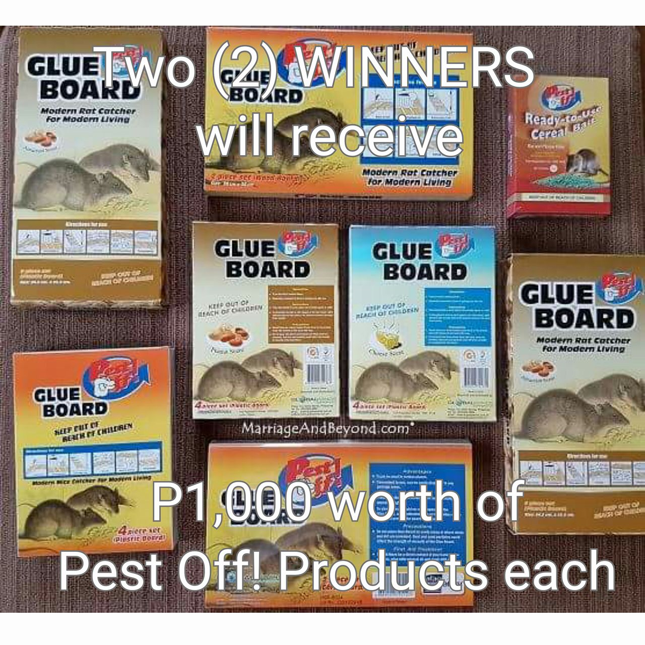 Pest Off! Rodent Control Products