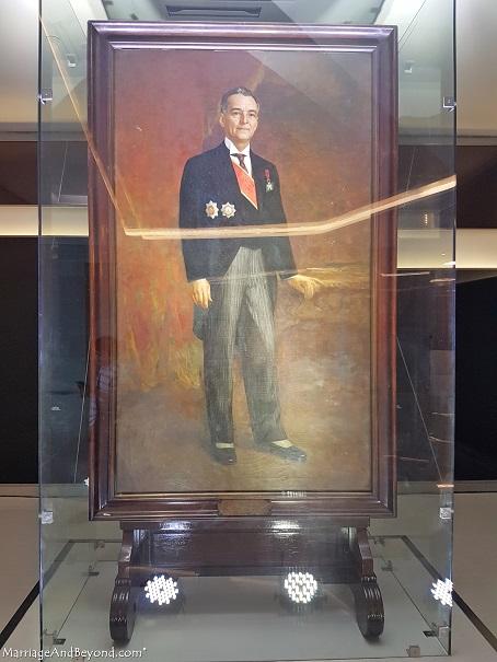 Manuel L. Quezon by Fernando Amorsolo