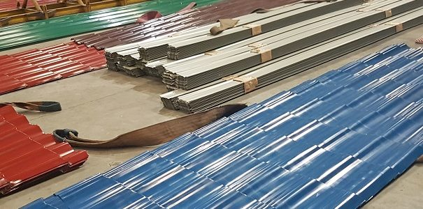 Home Improvement Feature: Metalink Steel Plant Tour & Roofing Solution for the Home