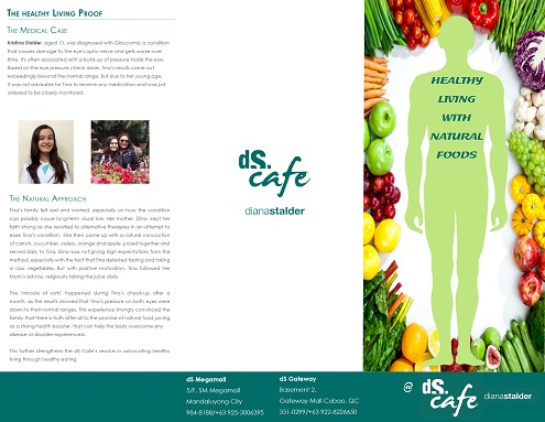 dS cafe natural foods for healing