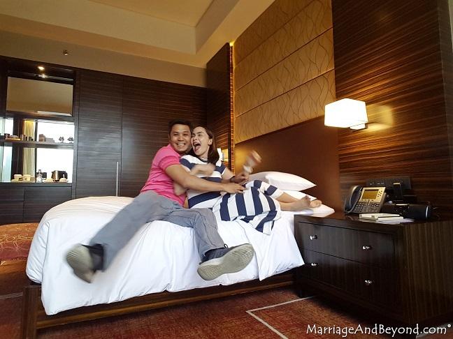 crazy honeymooners at the hyatt cod manila