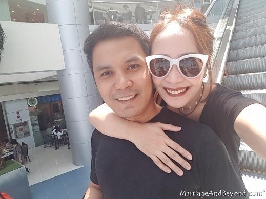 happy honeymooners after hyatt cdo staycation