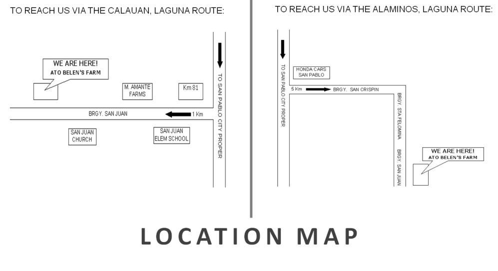 Ato Belen's Map