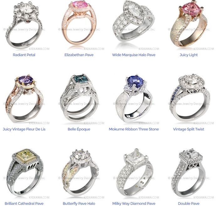 luxury engagement rings