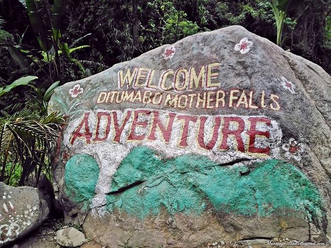 ditumabo falls adventure