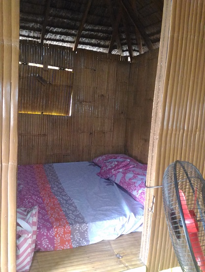 awel seashore nipa hut accommodation in baler